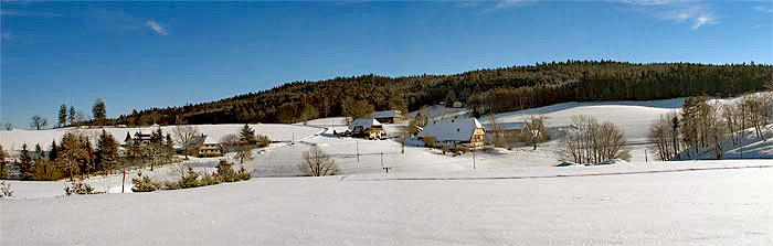 Winter auf dem Kieningerbauernhof